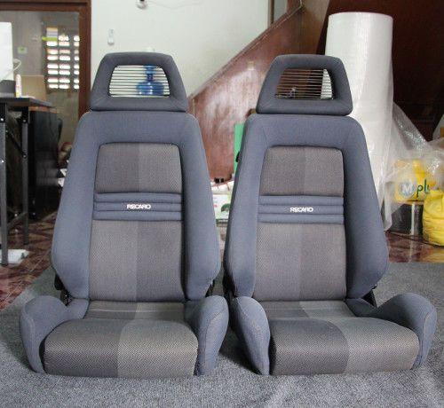 2 Jdm Recaro Lx Seats Net Headrest Racing Porche Eg Ek Bmw Auto Cars For Sale Recaro Recaro Recaro Car Seat Jdm