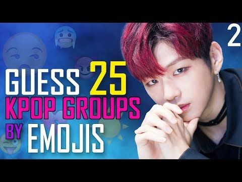 Kpop Game Can You Guess 25 Kpop Groups By Emojis Pt 2 Youtube