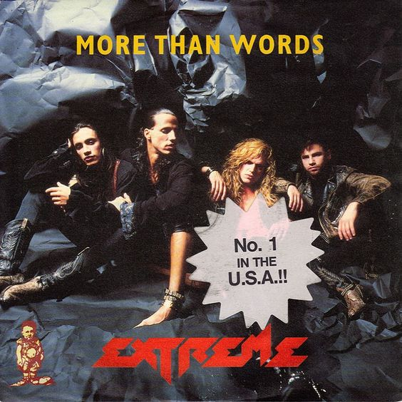 Extreme – More than Words (single cover art)