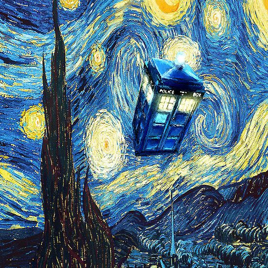 Tardis Wallpaper Iphone: Tardis Starry Night Apple Iphone 5, Iphone 4 4s, IPhone