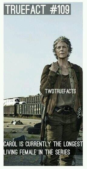 I love Carol, my favorite TWD character