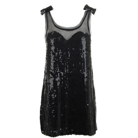 Sequin Bow Dress / RACHEL GILBERT