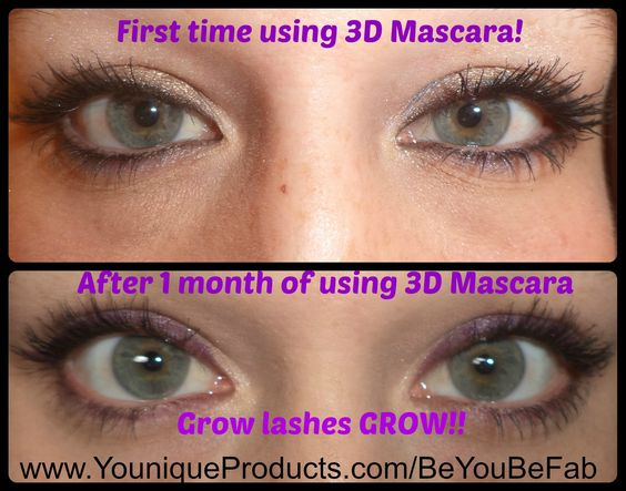 My Secret to more Beautiful Lashes!!  After 1 month of using Youniques 3D Fiber Lash Mascara my eyelashes look more full! I don't know if it's the Collagen or lack of Parabens but I am one happy girl! www.youniqueproducts.com/beyoubefab