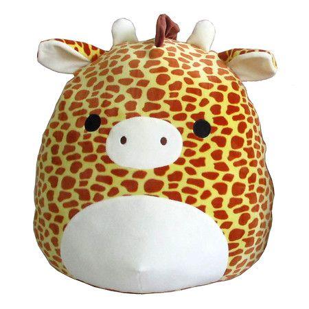Squishmallow Plush Giraffe 16 Inch 1 Ea Giraffe Plush Animal Pillows Animal Plush Toys