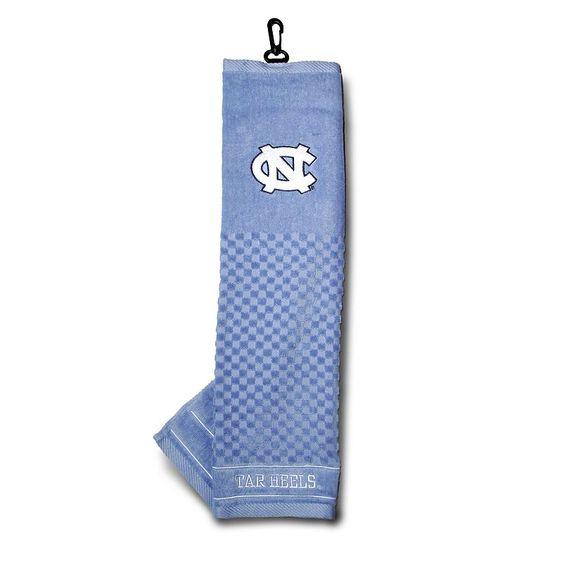 Team Golf North Carolina Tar Heels Embroidered Towel, Multicolor