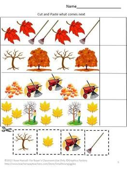 Number Names Worksheets fall worksheets : Fall Themed Worksheets For Preschoolers - english teaching ...