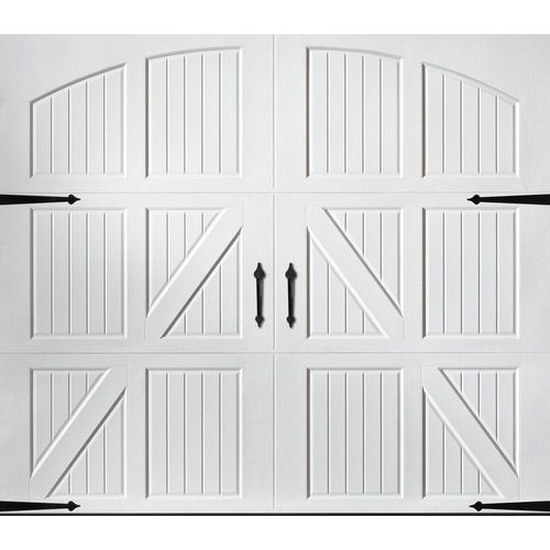 Pella Carriage House 108 In X 84 In White Single Garage Door Lowes Com In 2020 Single Garage Door Garage Doors Garage Door Types