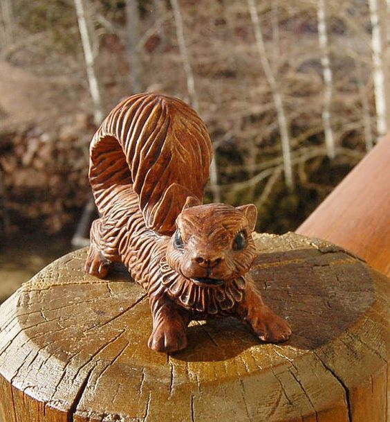 Arnel's Squirrel Ceramic by theabandonedpiano on Etsy