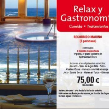 Bono Relax y Gastronomía at the Shopping Mall, € 67,50 exclusivo descuento para seguidores en Facebook, pago vía Paypal