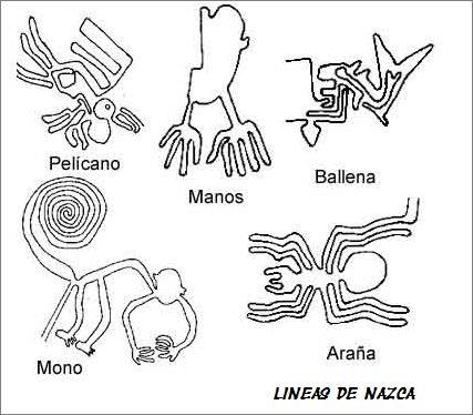 Las Lineas De Nazca Sok Pa Google Peruvian Art Nazca Nazca Lines