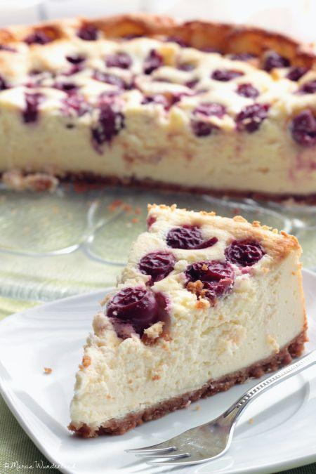 Kirsch-Käsekuchen | Cherry cheesecake