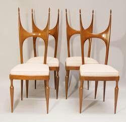 Pozzi & Verga chairs (1940s)