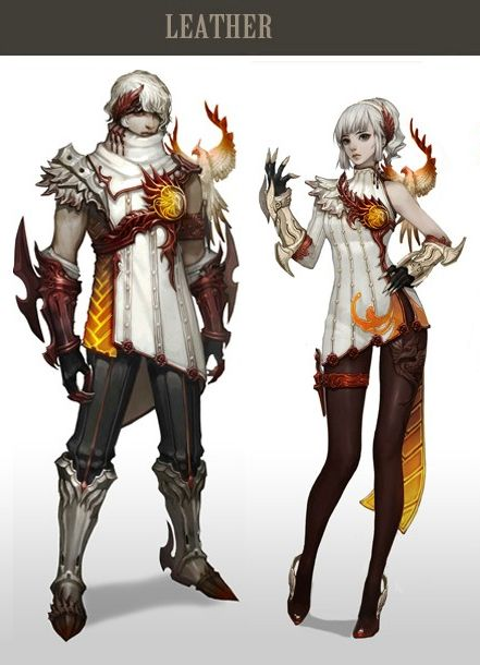 Anime Fantasy Character Design : Aion fantasy outfits pinterest armors female