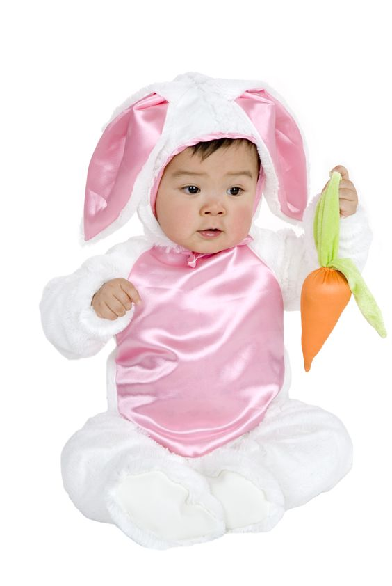 Microfiber Plush Bunny Child Costume