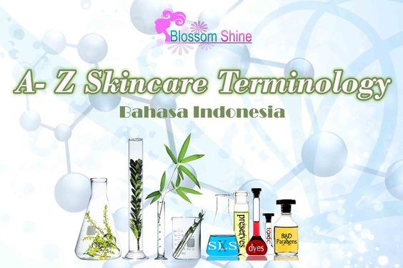 Terminologi Skincare A-Z Bahasa Indonesia
