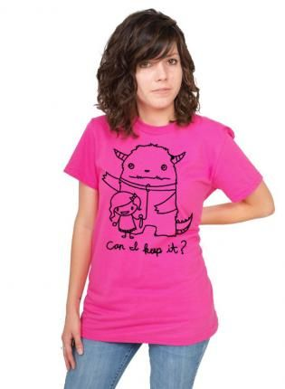 Can I Keep It American Apparel Tee,  Tee, can i keep it monster american, Casual