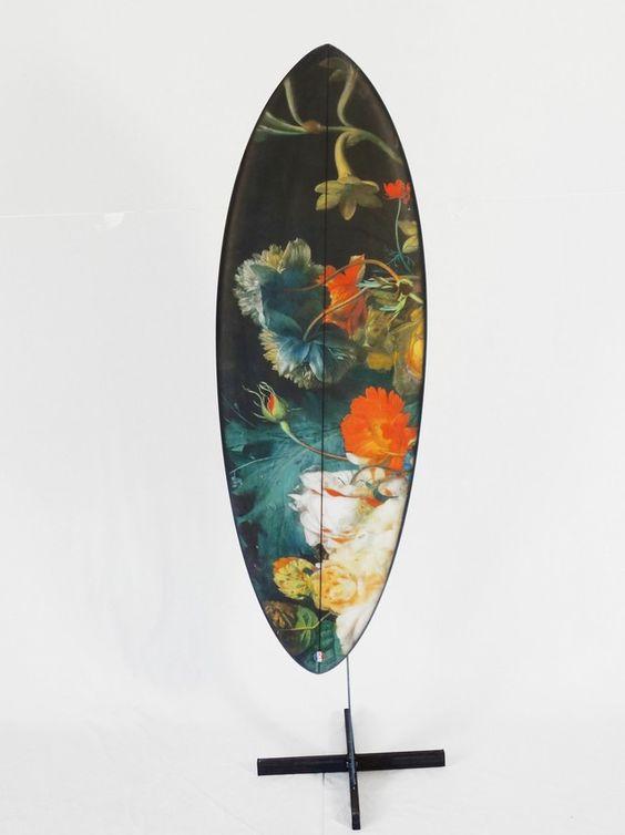 Flowers series Surfboards