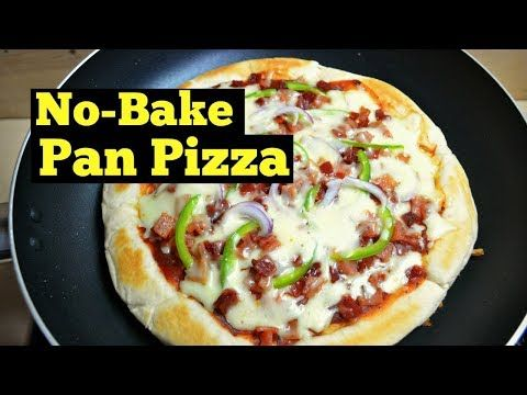 How To Make Pizza At Home Without Oven No Bake Pizza Youtube