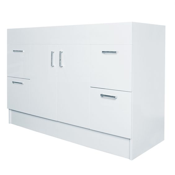Vanity cabinet vanities and cabinets on pinterest for Flat pack kitchen cabinets perth