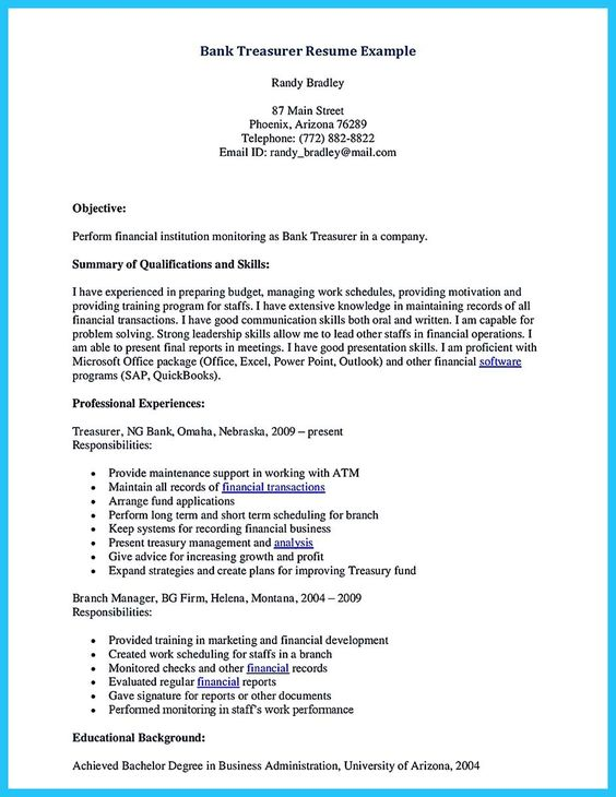 Banking Cover Letters, Sample Banking Cover Letter