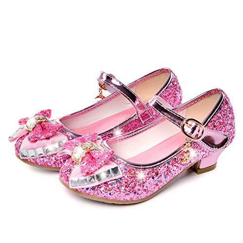 Little Girls Adorable Sparkle Mary Jane Princess Party Dress Shoes Flat Sandals