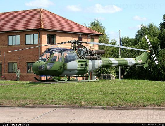 United Kingdom - Army Air Corps Westland Scout AH.1 XV123 s/n F9698  Shawbury United Kingdom  July 22, 2014 Photo by: Terry Figg