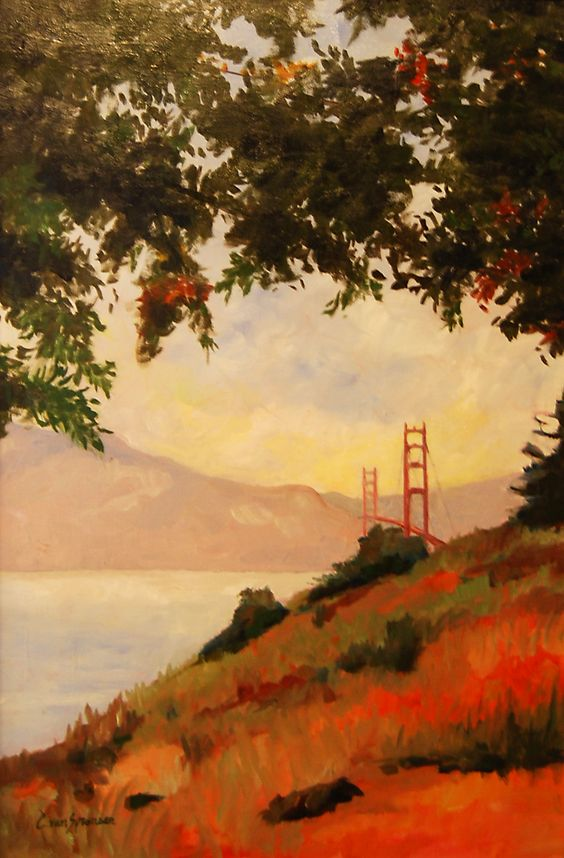 California has inspired me to do so many paintings and it's no wonder why.