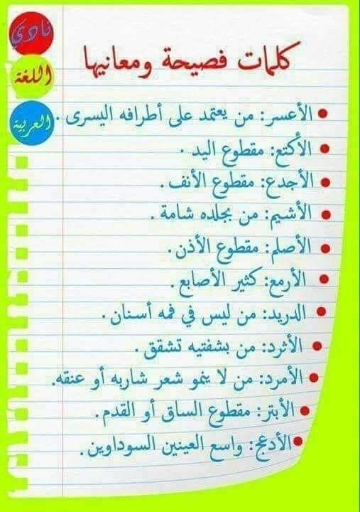 Pin By Samira Mody On Words Learn Arabic Alphabet Learn Arabic Language Learn English Words
