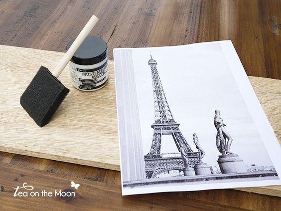 Transferencia de una imagen a madera