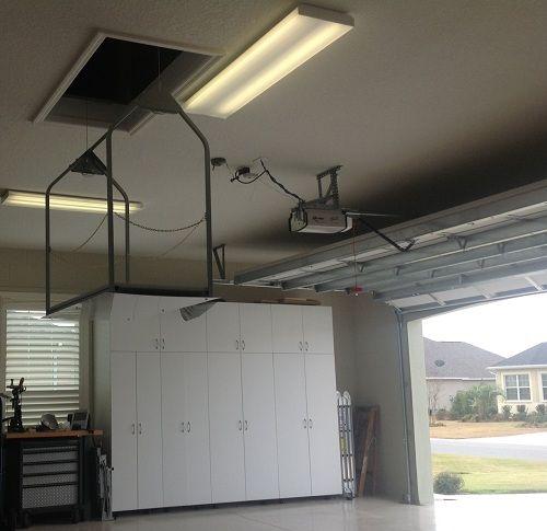 Garage To Attic Lift