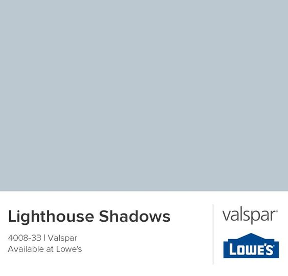 lighthouse shadows paint color | Color for main living area & kitchen Lighthouse Shadows from Valspar