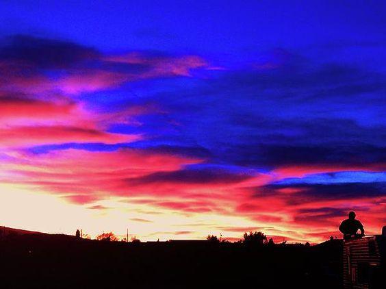 Desert Eve Sky