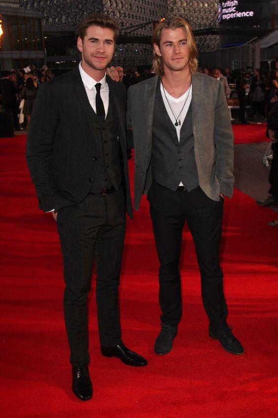 Pin for Later: Wie groß sind die Stars wirklich? Liam Hemsworth = 190cm, Chris Hemsworth = 190cm