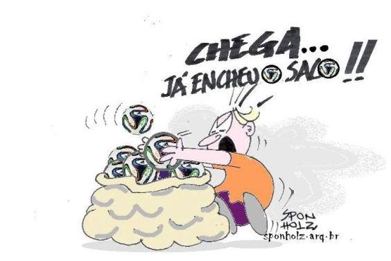 Post  Fala Sério!   : SACO CHEIO !