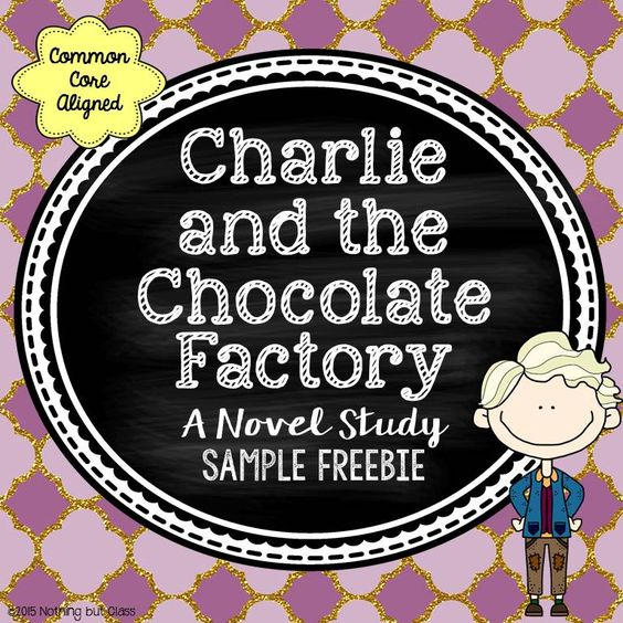 This is a 6 page sample of my novel study for Charlie and the Chocolate Factory by Roald Dahl. This download includes student work for Chapters 1-3, as well as an Augustus Gloop Character Analysis activity.