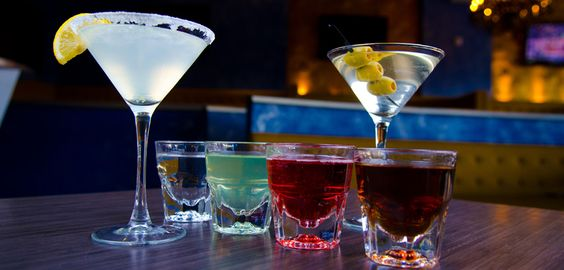 Blu at Sugar Land Town Center.  great happy hour appetizers & drinks.  good place to visit with friends.