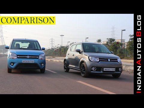 2019 Maruti Suzuki Wagon R Vs Ignis Hindi Comparison Youtube