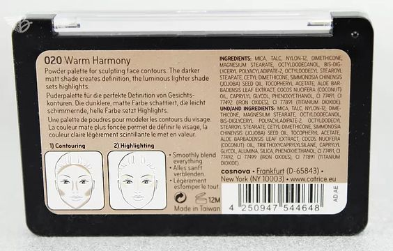 Prime And Fine Professional Contouring Palette 020 warmharmony