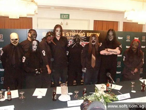 autograph session Slipknot #Slipknot