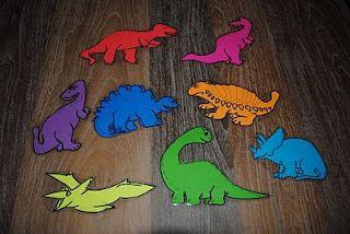 Great books for dinosaur theme week...: