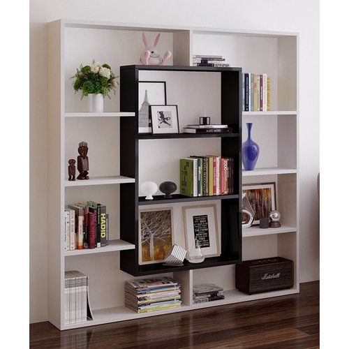 Cilegon Bookcase Metro Lane Colour White Black With Images Shelves Ikea Room Divider Bookshelf Design