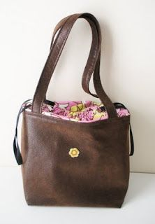 Great idea! Dress Up Your Tote
