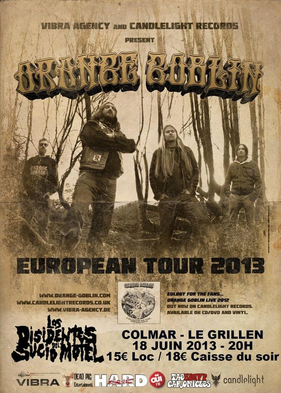 Lddsm + Orange Goblin 18/06/2013 - Colmar - France