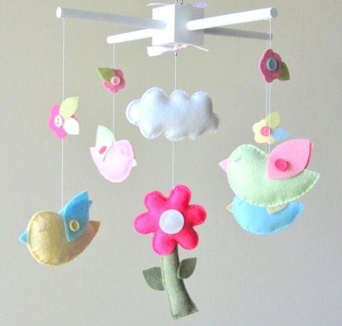 Moviles para cunas de beb s hechos a mano imagui for Aplicaciones para decorar el movil