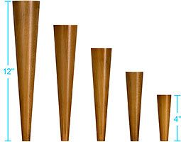 for furniture projects - Mid Century Modern Furniture Feet Collection