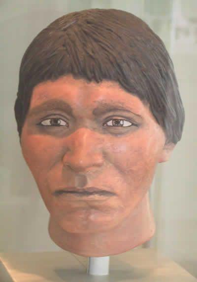 Reconstrucción del Hombre de Tepexpan, mas refinada y clara