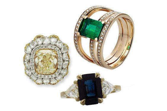 15 unique engagement rings for 2016