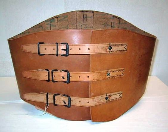 love the french military corset/kidney belt I happened upon