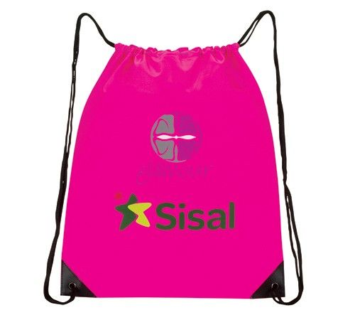 Bright Colored Drawstring Bag Bar Mitzvah or Bat Mitzvah Party Favor, Giveaway, Event Giveaway, Branded Promo