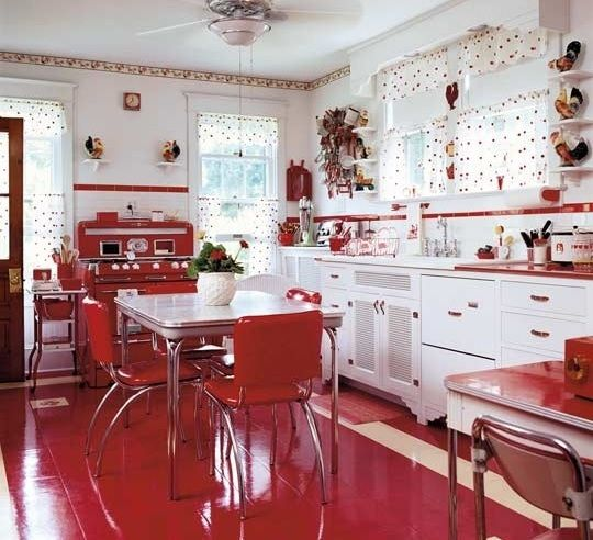 Strawberry kitchen decoration with kitchen wall borders ...